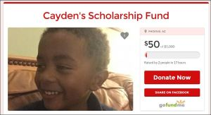 Cayden's college fund